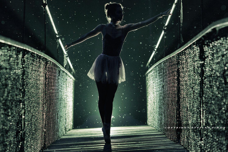 Ballet under the rain